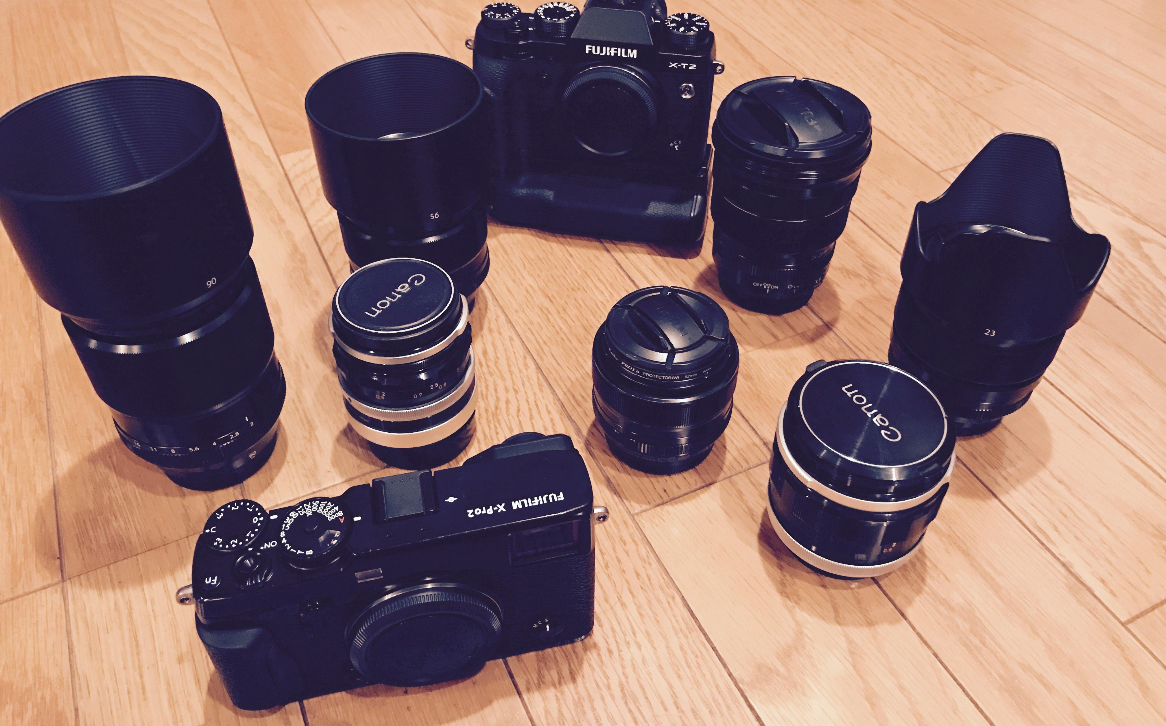 カメラやレンズ等