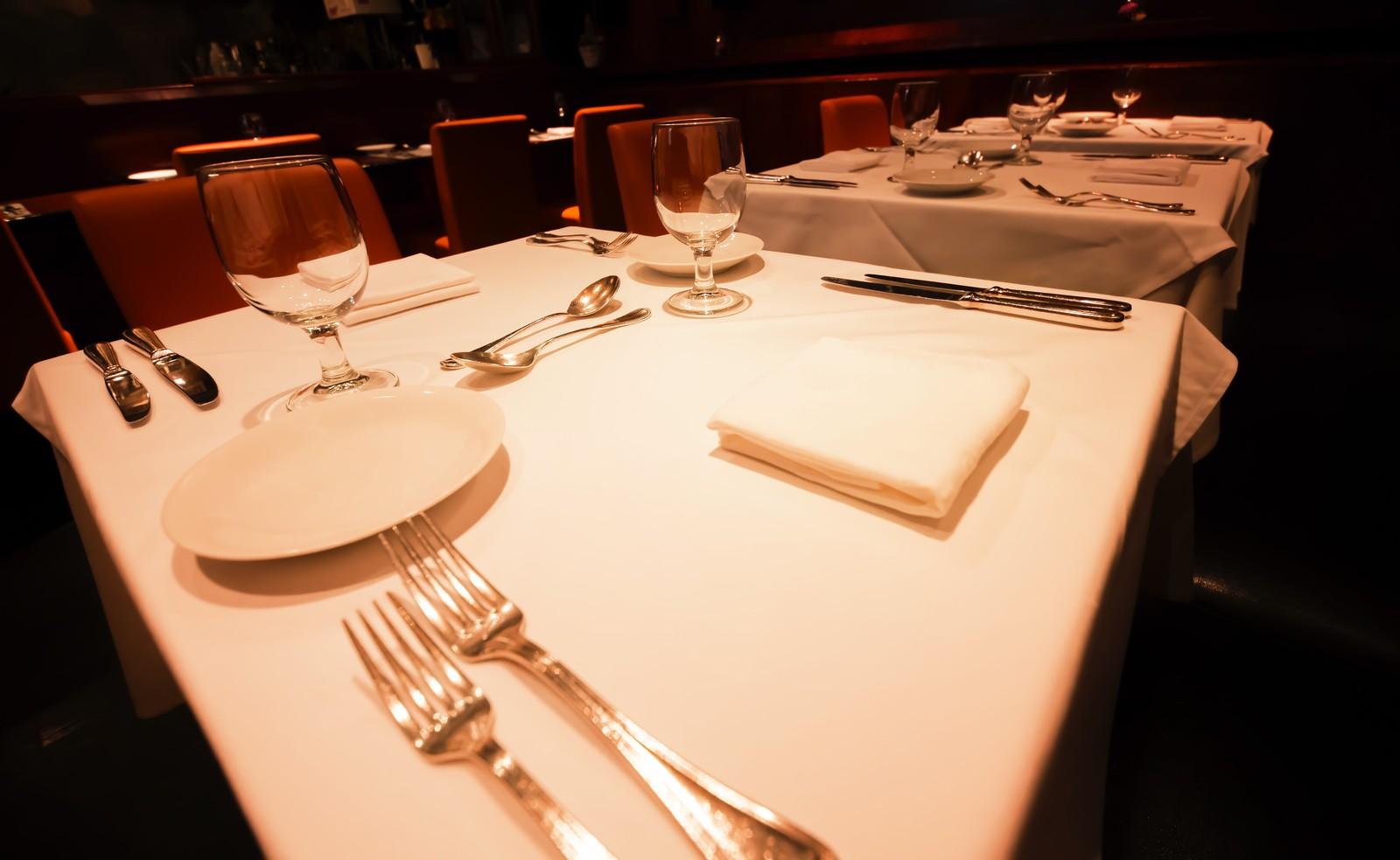 高級レストラン