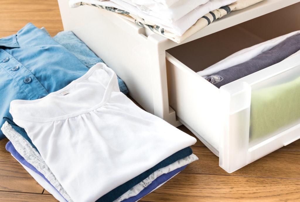 ミニマリスト 洋服の整理/整頓