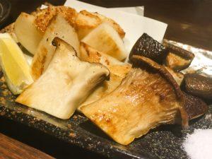 100円でできる舞茸のマスタードソテー!
