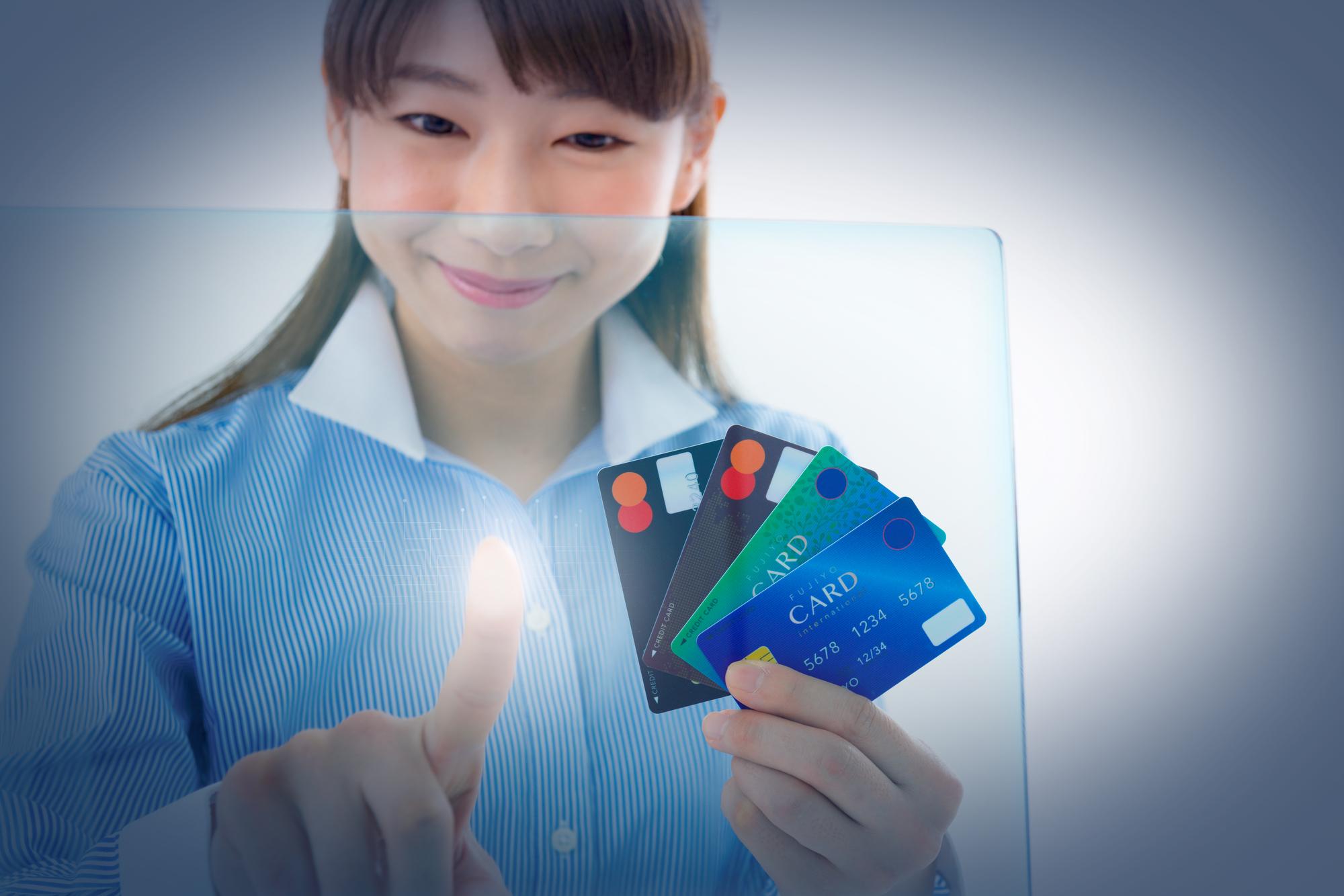 クレジットカードでピッ!