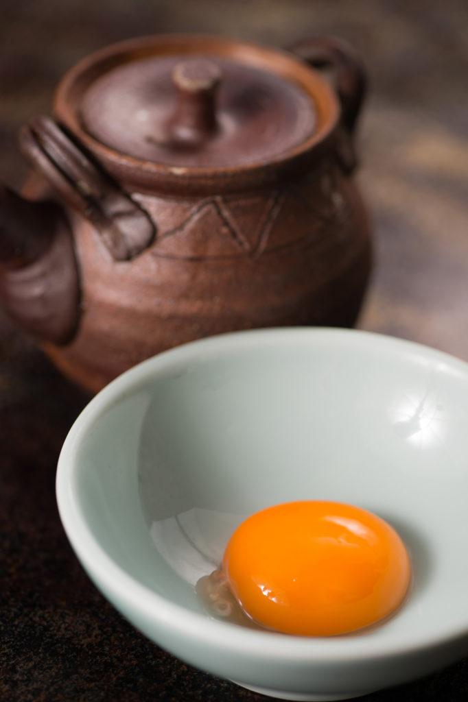 社会人の朝ごはん こだわり卵