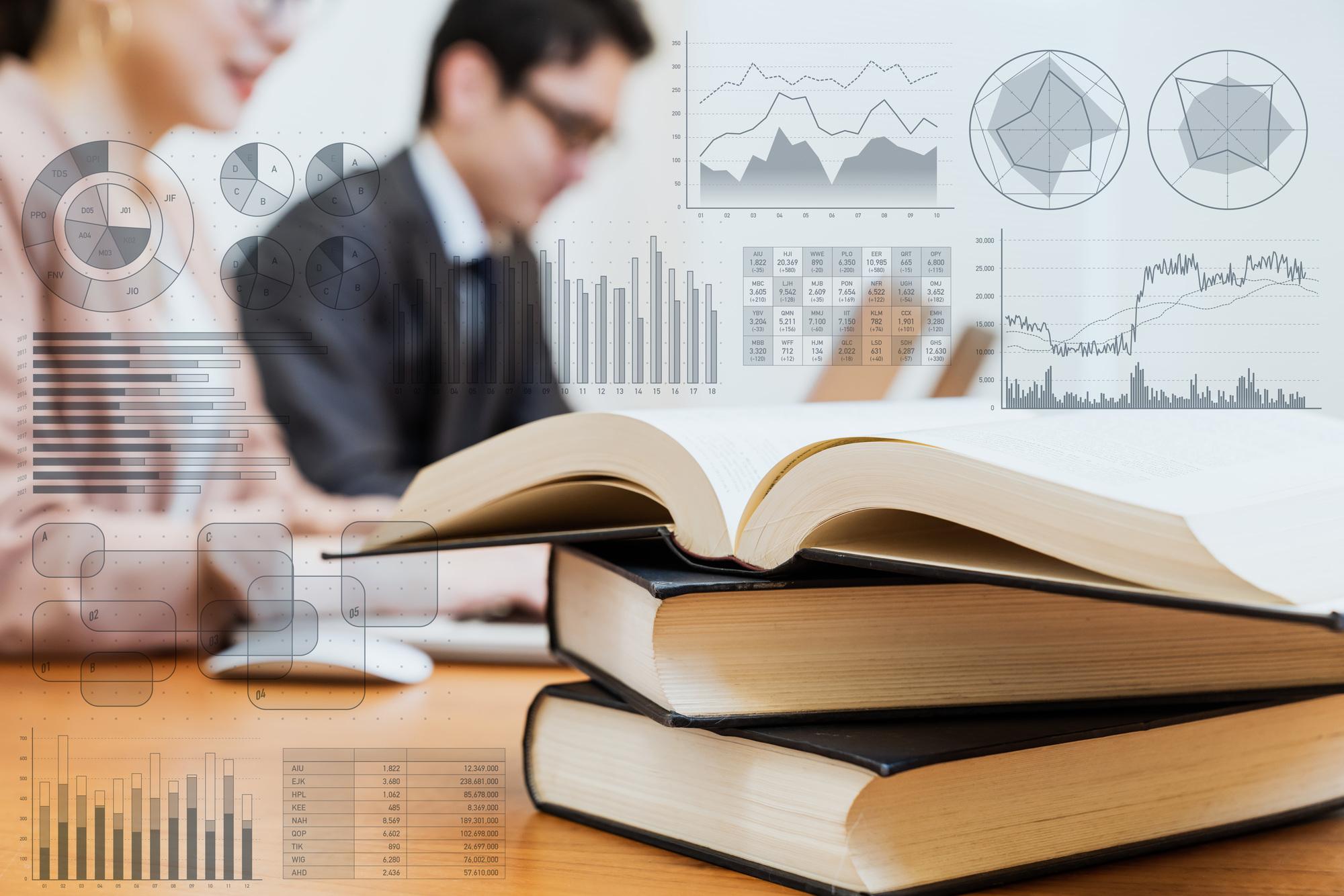 株式の書籍、投資の本
