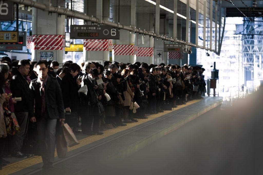 駅・電車内の迷惑行為ランキング