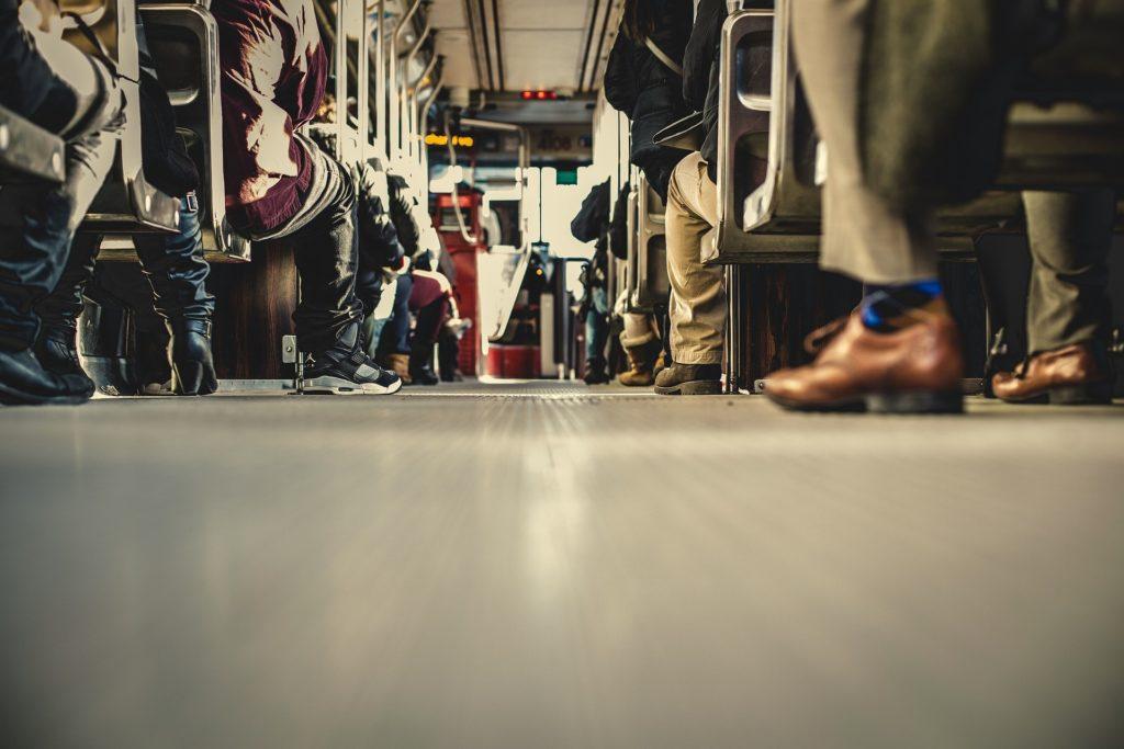 通勤の風景