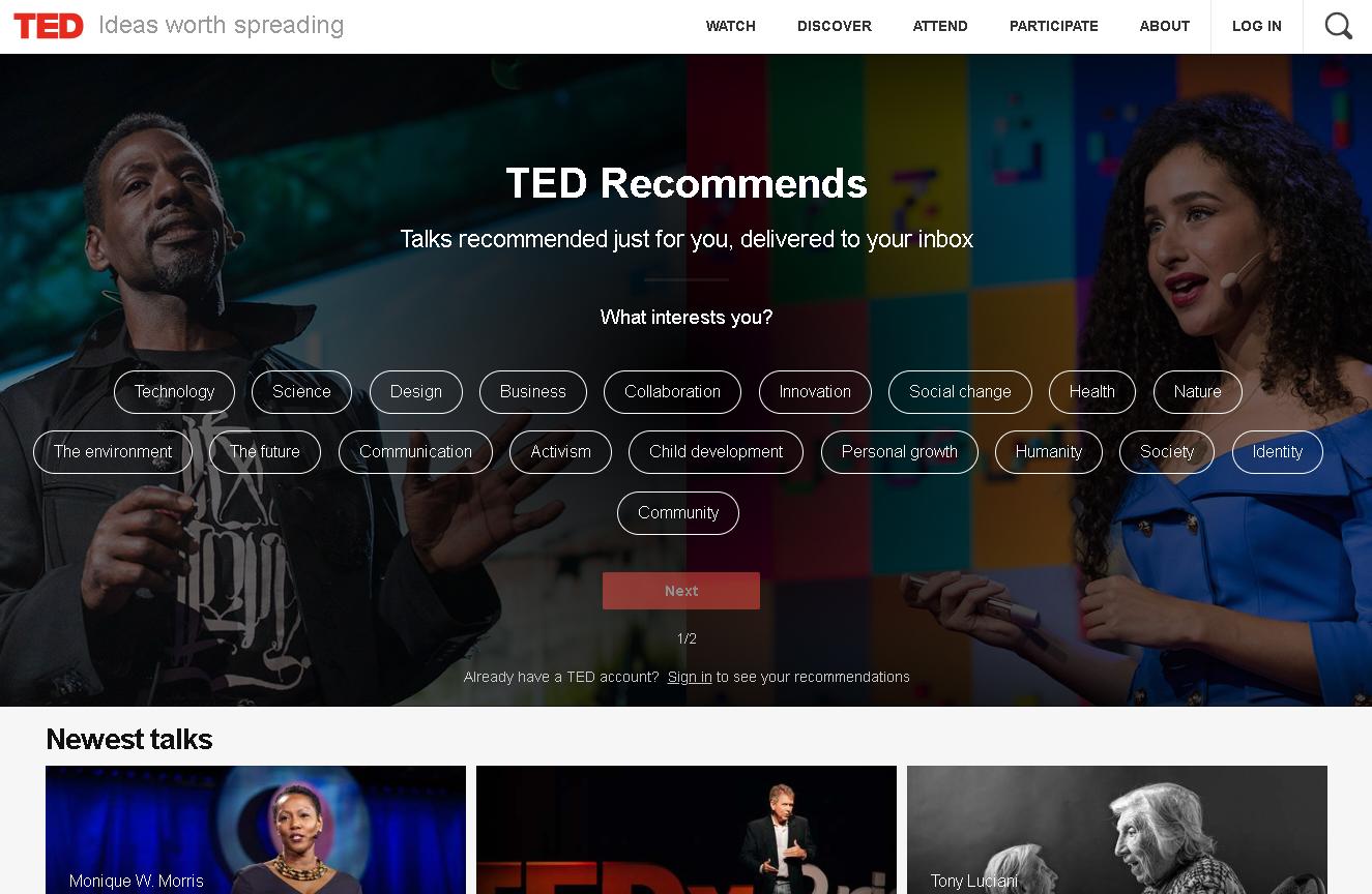 TEDキャプチャ