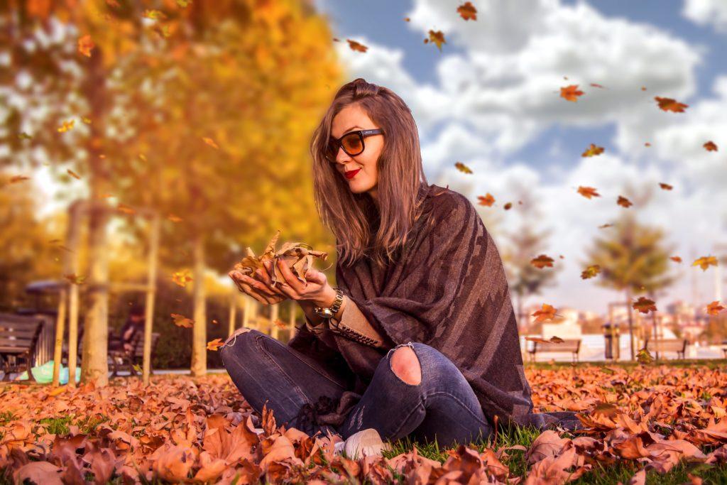 秋のレディースコーデ