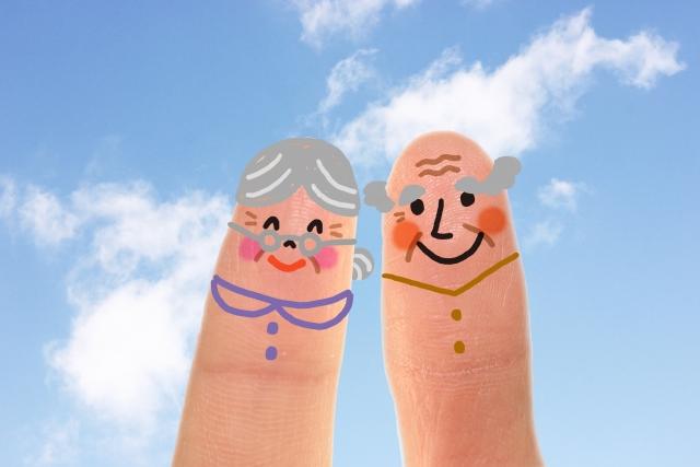 老人夫婦のイメージ