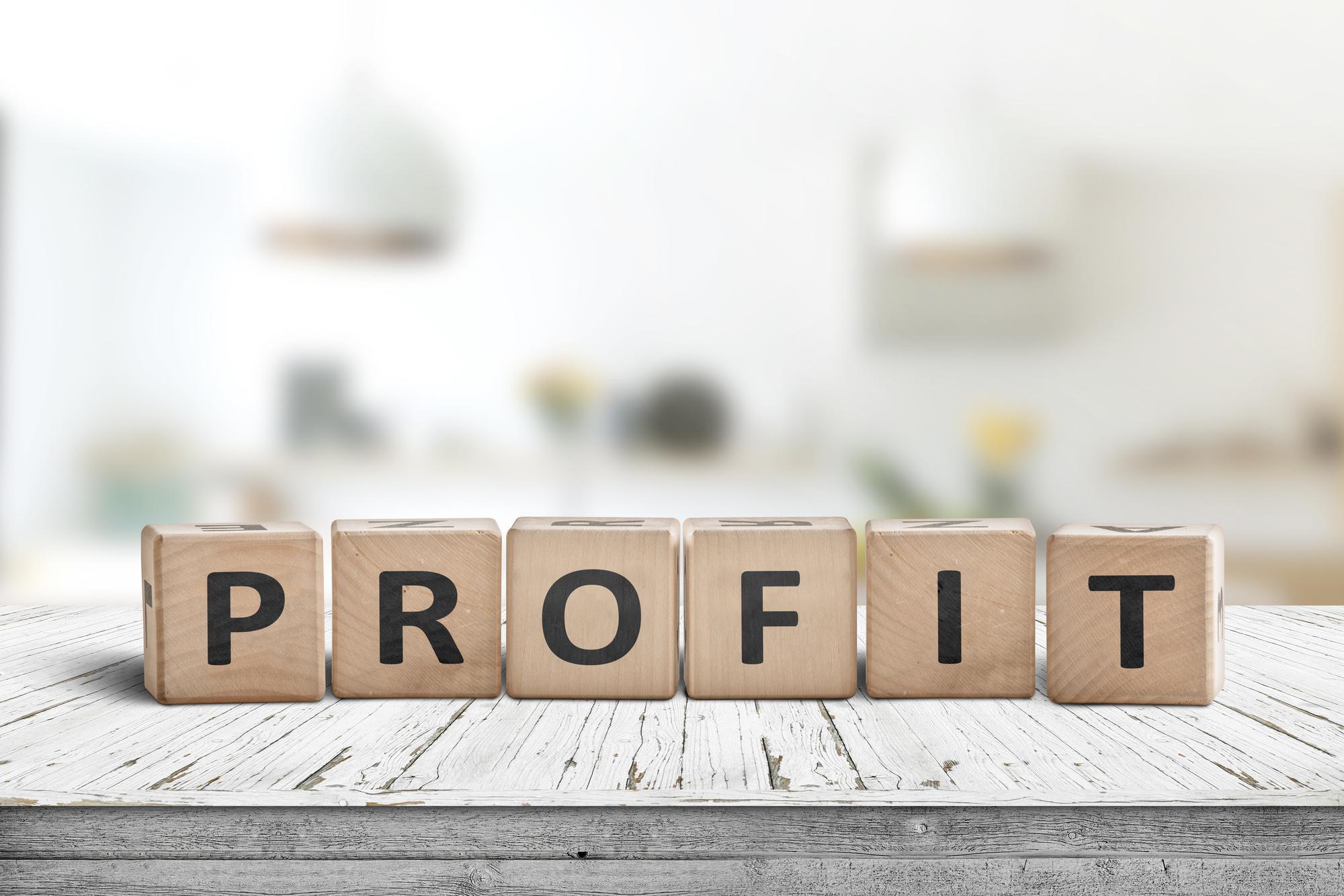 利益 profit